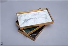 Nordic Dresser Desktop Cosmetic Storage Box Shelf