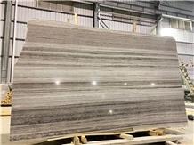 Palissandro Blue Crystal Wood Grain Marble Slabs