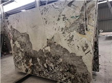 Pandora White Luxury Marble Slab for Project