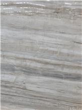 Polished Eurasian Wood Grain Stone Marble for Slab