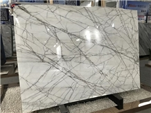 Popular Classy White Marble Slabs for Floor & Wall