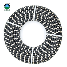 Rubber Diamond Wire Saw for Stone Quarrying