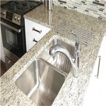 Santa Cecilia Light Granite Kitchen Countertop