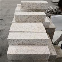 Shandong Rust G682 Flamed Granite Kerbstones