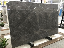Spanish Dark Grey Marble Slabs for Hotel Project