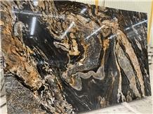 Tatanum Golden Quartzite Slabs,Tiles Polished