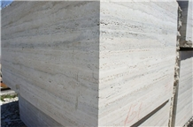 Travertino Romano Silver Blocks, Beige Travertine