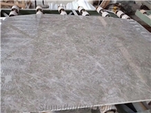 Tundra Grey Marble Slab Tile for Hotel Decoration