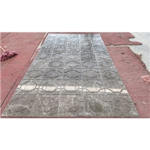 Turkey Cyprus Grey Marble Slabs for Handicrafts