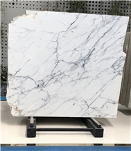 Volakas White Marble Tiles Slabs Wall Covering