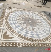 Waterjet Decorative Floor Tile Medallions