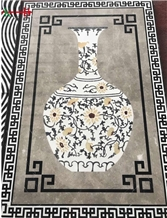 Waterjet Marble Medallion Decoration Polish Mosica