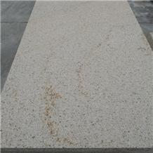 Zhangwei G682 Flamed Finish Yellow Granite Tiles