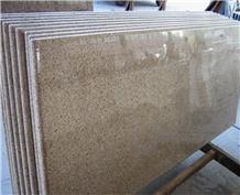 Fujian G682 Rusty Yellow Granite Slabs and Wall
