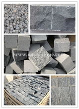 Outdoor Granite Cube Stone Pavers Wholesale