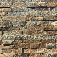 Rust Cladding Stacked Stone Veneer Ledger