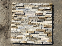 Slate Ledge Stone Panel Cultured Veneer Stacked