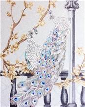 Glass Mosaics Arts,Scissors Painting