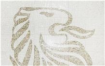 Marble Mosaics Horse Design for Village Dec