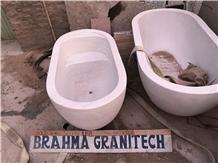 Freestanding Bathtub,Oval Bathtub,Sandstone Baths