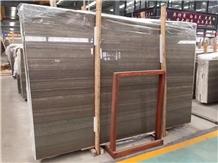 Brown Wood Marble Slab, Coffee Brown Marble Tiles
