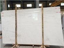 Greece Pyrgos White Marble, Volakas White Galaxy