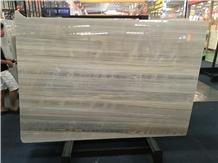 Iceland Wood Vein White Marble Slabs for Tiles