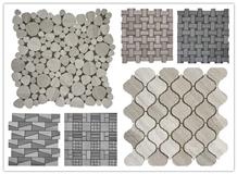 Mosaico Wood Crema Marble,Marble Mosaic Tiles