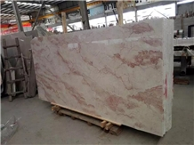 Rose Cream Marble,Chinese Rose Pink Marble Project