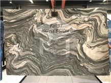China Luxury Water Cloudy Grey Marble Slabs&Tiles