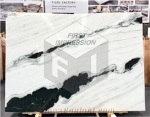 Hot Sale China Panda White Marble Slabs,Tiles