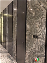 Hot Sale Water Cloudy Grey Marble Slabs&Tiles