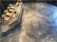 Hot Water Cloudy Grey Marble Slabs&Tiles for Wall