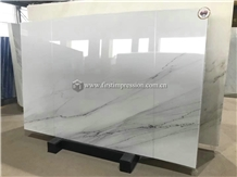 New Polished Lincoln White Marble Slabs&Tiles