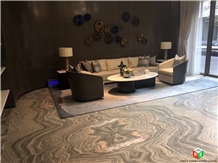 Water Cloudy Grey Marble Slabs&Tiles for Interior