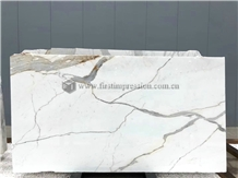 White Statuario Venato Marble Slabs,Tiles