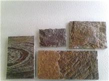 Coffee Slate Stone Pieces