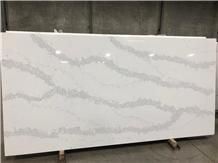 Carrara White Vietnam White Quartz Slabs