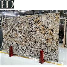 Luxury Golden Granite Phantom Flower Slabs, Tiles