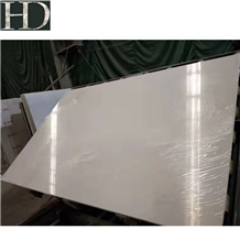 Pure White Polished Artificial Marble Stone Slabs