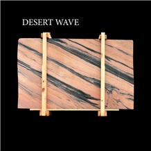Desert Wave, Pink Marble Slabs