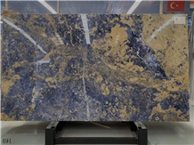 Bolivian Blue Marble Azul Stone Wall Cladding Tile