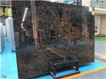 Golden Vienna Black Marble Gold Vein Wall Paving