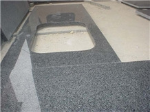 G654 Impala Black Granite Kitchen Countertops