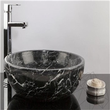 Black Bathroom Sink,Nero Marquina Basin