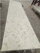 Alaska Crema Quartz Countertop/White Quartz Stone