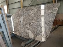 White Granite Alaska Bianco Slabs&Tiles Polished