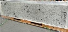 White Tiger Skin Granite Countertop