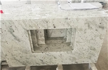 Sri Lanka Andromeda White Granite Bathroom Countertops