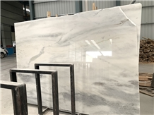 African Mont Blanc White Marble, Misty White